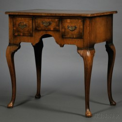 Queen Anne-style Walnut Dressing Table
