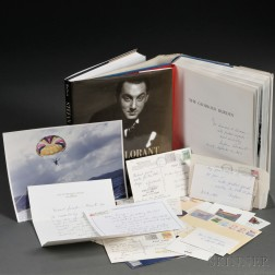 Lorant, Stefan (1901-1997) Small Archive of Correspondence and Two Books.