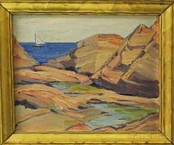 Attributed to Louise G. Burbank (American, 20th Century)      Maine Coast