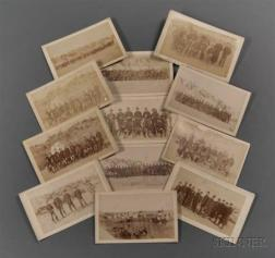 Twelve Imperial Size Cabinet Card Photographs