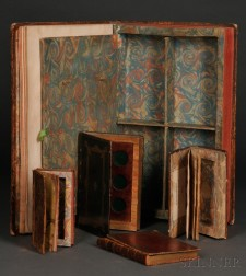 """Five Book Safes, or """"Blooks,"""" 18th Century."""