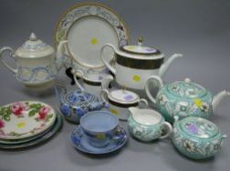 Thirteen Pieces of Assorted Wedgwood Ceramic Tableware