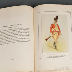 Uniforms of the Armies of the War of the American Revolution 1775-1783