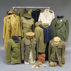 Group of Assorted WWI Uniforms