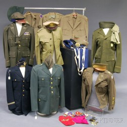 Assorted Group of WWII Uniforms