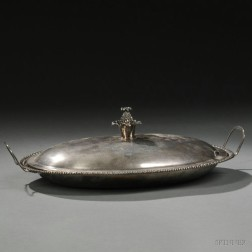George III Sterling Silver Covered Dish