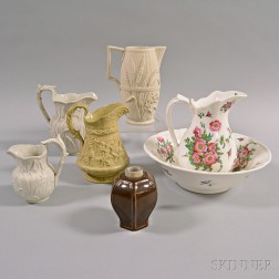 Seven Assorted Porcelain and Ceramic Items