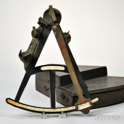 Spencer Browning and Rust 12-inch Ebony Octant