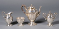 Four Piece Mexican Sterling Coffee Service