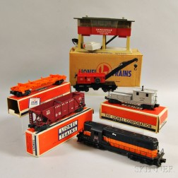 Lionel Train Diesel Freight Set #2235 and a #465 Sound Dispatching Station