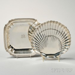 Two American Sterling Silver Dishes