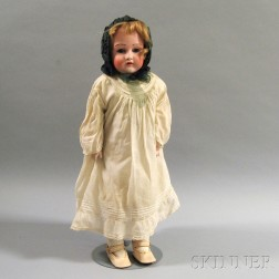 Kestner Bisque Shoulder Head Doll