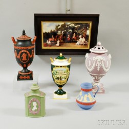 Six Assorted Modern Wedgwood Items