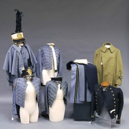 Collection of Military School Uniforms