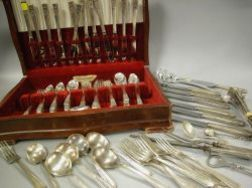 Two Community and Reed & Barton Silver Plated Partial Flatware Sets