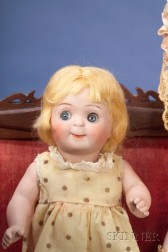 All-Bisque Googlie Character Doll