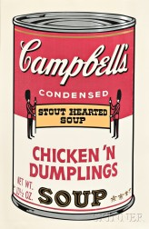 Andy Warhol (American, 1928-1987)      Chicken 'n Dumplings
