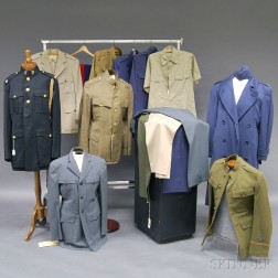 Assorted Group of Mostly WWII Uniforms