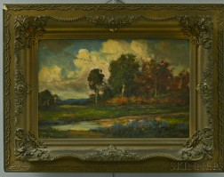 European School, Late 19th/Early 20th Century       Landscape.