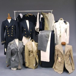 Group of Assorted Navy Uniforms