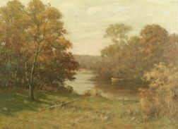 Francis Henry Richardson (American, 1859-1934)  October Morning...Ipswich