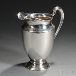 International Sterling Silver Water Pitcher