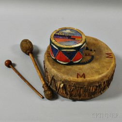 Two Indian-style Drums