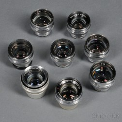 Zeiss Sonnar Lenses in Contax Mount