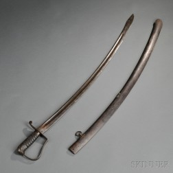 Nathan Starr Cavalry Saber and Scabbard