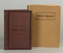 Two Shaker Hymnals