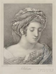 Anglo-American School, 19th Century      Odalisque