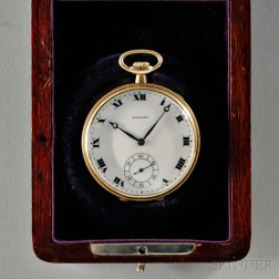 Howard Open-face Watch and Box