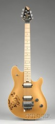 Edward Van Halen Signed Electric Guitar, Peavy Electronics, Meridian, 1969, Prototy e Model EVH Wolfgang, ...