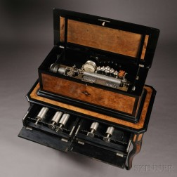 Paillard & Company Interchangeable Orchestral Cylinder Musical Box