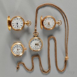 Tiffany & Co. and Three Other Ladies' Watches