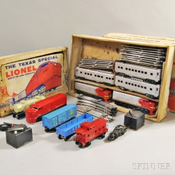Two Boxed Lionel Train Sets