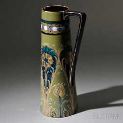 Large Moorcroft Florian Ware Pitcher
