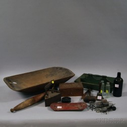 Group of Domestic Items