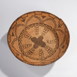 Apache Coiled Basketry Bowl