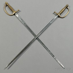 Two Model 1840 Musician's Swords