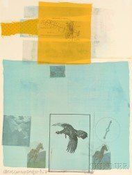 Robert Rauschenberg (American, 1925-2008)      Why You Can't Tell #I