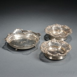 Three Dominick & Haff Sterling Silver Items