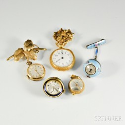 Group of Lady's Decorative Watches