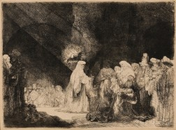 Rembrandt van Rijn (Dutch, 1606-1669)      The Presentation in the Temple (Oblong Print)