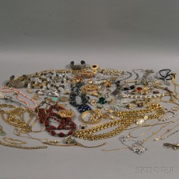 Group of Signed Costume Jewelry