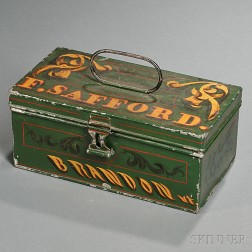 Painted Tin Box