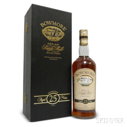 Bowmore 25 Years Old, 1 750ml bottle (pc)