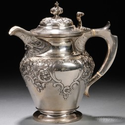Victorian Sterling Silver Water Pitcher