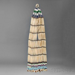 Sioux Woman's Hairpipe Necklace
