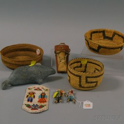 Group of Native American Objects
